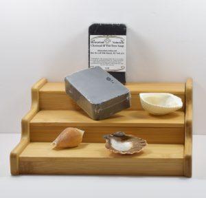 Charcoal And Tea Tree Soap
