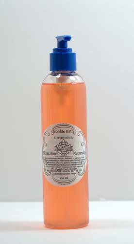 Skincare Creamsicle Bubble Bath