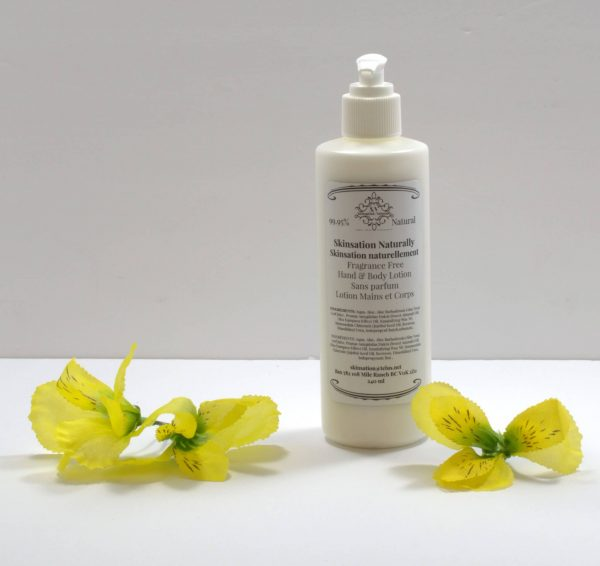 Fragrance Free Hand Lotion 240ml