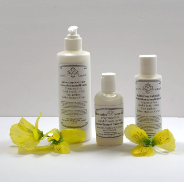 Fragrance Free Lotion Pack