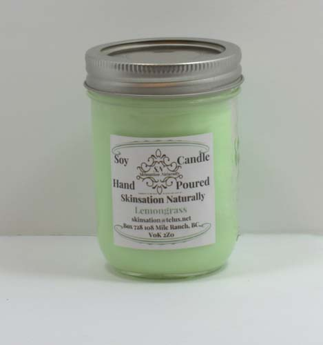Lemmongrass Soy Candle