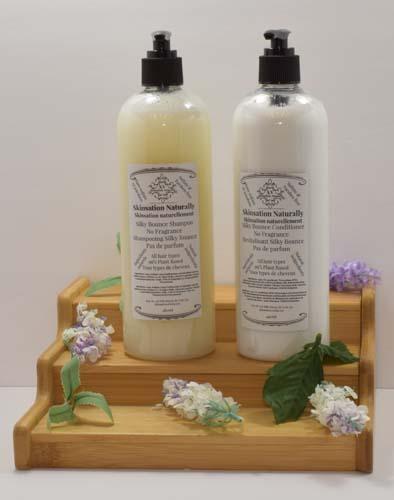 Silky Bounce Shampoo-Conditioner 480ml