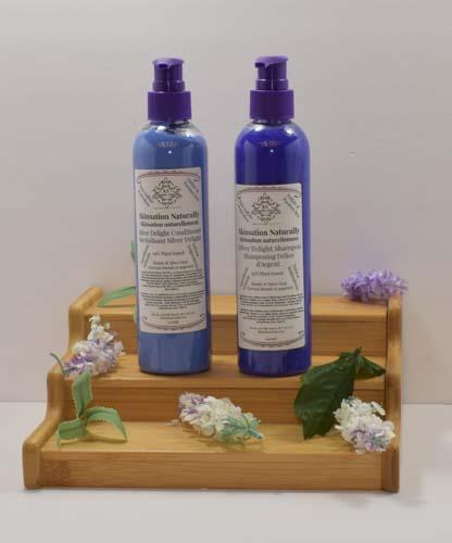 Silver Shampoo And Conditioner 220ml