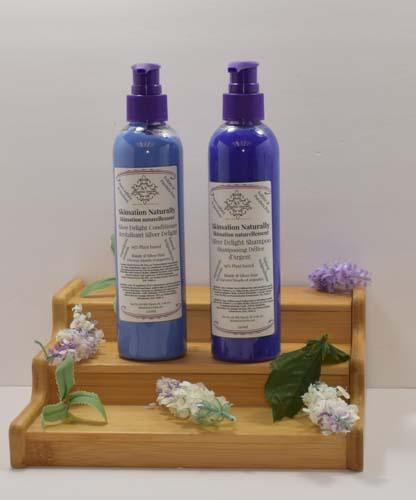Silver Shampoo And Conditioner 480ml