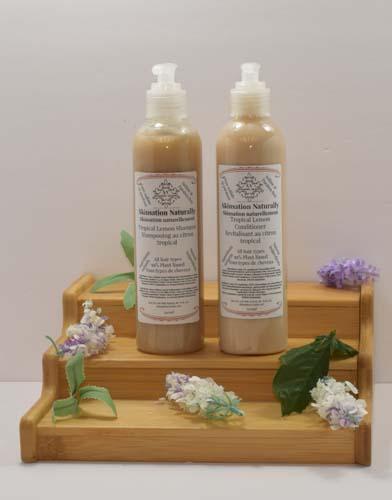 Lemon Shampoo And Conditioner 240ml